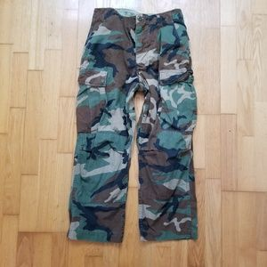 Other - Army Camouflage BDU Uniform Pants Small Long